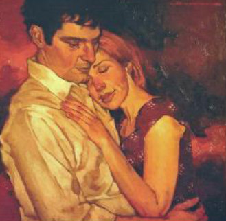 Getting Close Original Painting - Joseph Lorusso