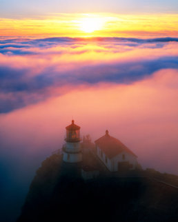 Point Reyes Lighthouse, California AP Panorama - Rodney Lough, Jr.
