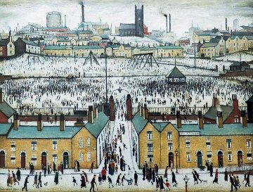 Britain At Play  1970 Limited Edition Print - L.S. Lowry