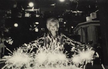 Marilyn Monroe Birthday Cake 1962 Photography - Lawrence Schiller