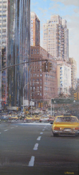 Towards Central Park South 2002 New York 31x16