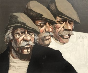 Three Expressions AP Limited Edition Print - Aldo Luongo