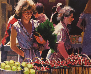 Strawberries For Lunch AP   1983 Limited Edition Print - Aldo Luongo