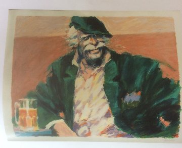 Brew at Gardels 1985 Limited Edition Print - Aldo Luongo