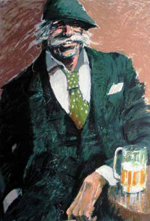 Afternoon Beer 1990 Limited Edition Print - Aldo Luongo