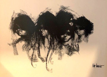 Five Faces 1970 Limited Edition Print - Aldo Luongo
