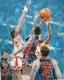 Jump to Victory 1988 Limited Edition Print - Aldo Luongo