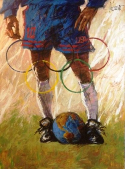 Where the World Comes to Play 1996 (Soccer) 36x28