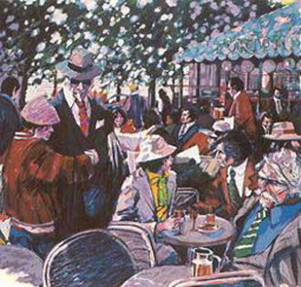 Cafe Tortoni Limited Edition Print - Aldo Luongo