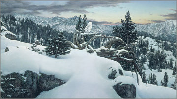 Early Winter in the Mountains AP Limited Edition Print - Stephen Lyman