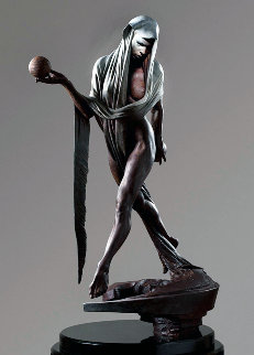 Nightfall Bronze Sculpture 2012 16 in Sculpture - Richard MacDonald