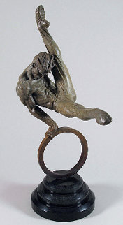 Gymnast Bronze Sculpture  Sculpture - Richard MacDonald