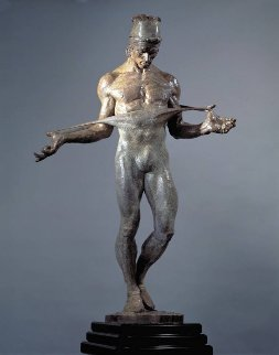 Nureyev Bronze Sculpture 1/3 Life-Sized 30 in Sculpture - Richard MacDonald