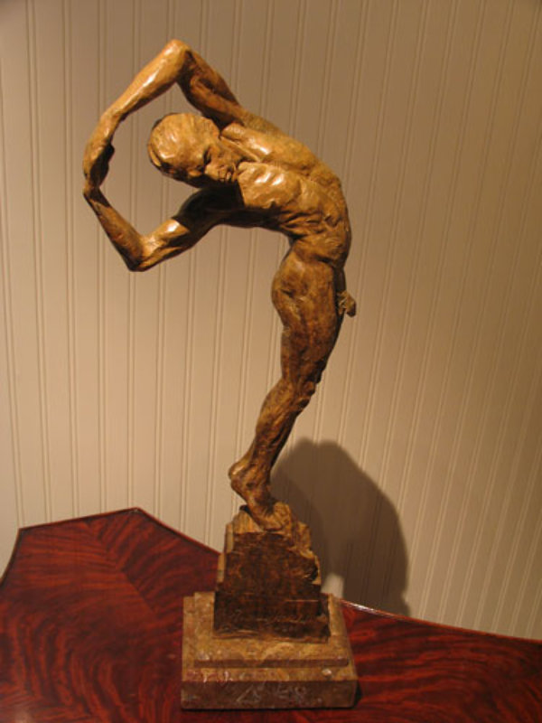 Jesse Bronze Sculpture AP 2001
