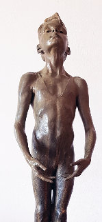 First Position Attitude Bronze Sculpture 1994 29 in Sculpture - Richard MacDonald