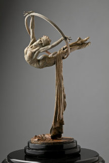 Elena Bronze Sculpture AP 2004 26 in Sculpture - Richard MacDonald