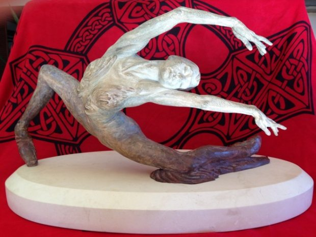 Study For Swan Lake Bronze Sculpture 2009