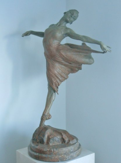 Dance the Dream Bronze 1/2 Life Size Bronze Sculpture 2007