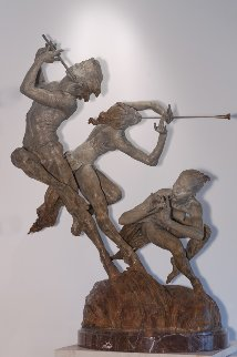 Joie De Vivre Bronze Sculpture 2000 56 in Sculpture - Richard MacDonald