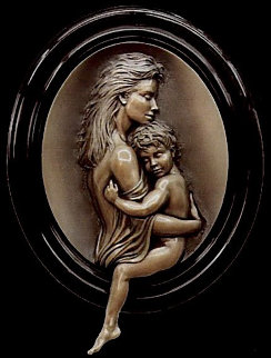 Cherish Bonded Bronze Sculpture 2001 Sculpture - Bill Mack