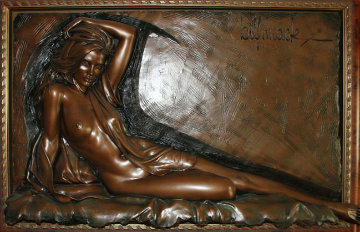 Inspiration Bonded Bronze Sculpture 1996 Sculpture - Bill Mack