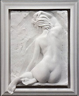 Innocence Bonded Sand Sculpture 1999 Sculpture - Bill Mack