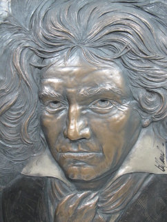 Beethoven Bonded Bronze Sculpture 2004 Sculpture - Bill Mack
