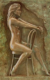 Solitude Bonded Bronze Bronze 1987 Sculpture - Bill Mack