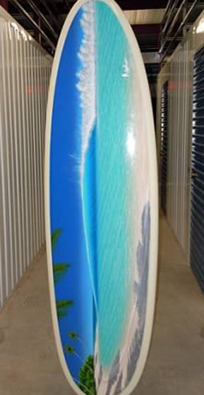 Untitled Surfboard 2008 21x80