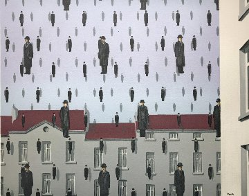 Golconde Limited Edition Print - Rene Magritte