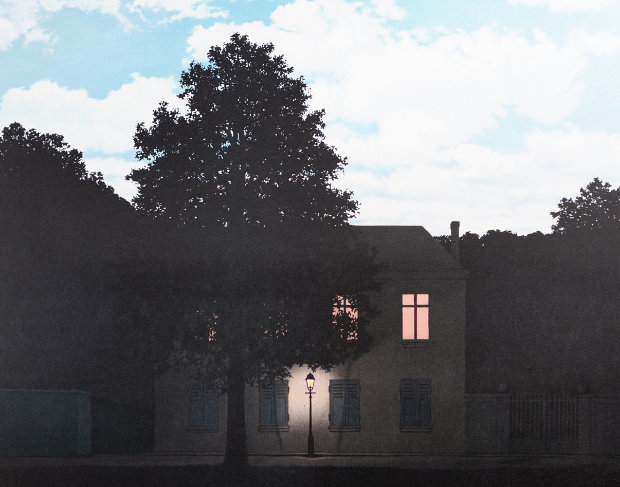 Le Blanc Seing The Blank Signature 2004 By Rene Magritte