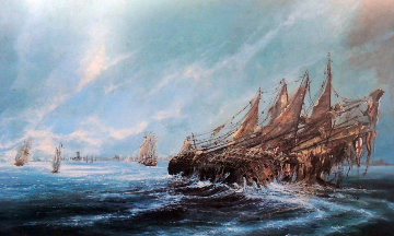 Sinking of Mary Rose Limited Edition Print - Ben Maile