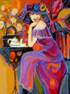 Tea Time 2004 Limited Edition Print - Isaac Maimon