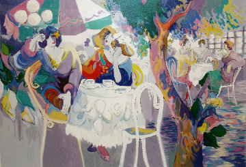 West Bank Cafe 19931993 Limited Edition Print - Isaac Maimon