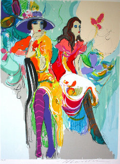Les Coquettes I 1985 Limited Edition Print - Isaac Maimon
