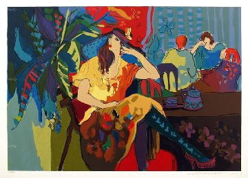 Table For One 1994 Limited Edition Print - Isaac Maimon