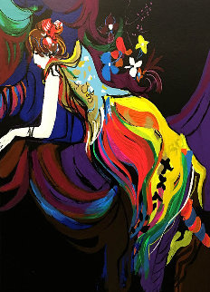 Paris Nights Suite: L'affectation  1990 Limited Edition Print - Isaac Maimon