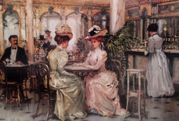 Tell Me 1995 Limited Edition Print - Alan Maley