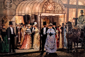 Cafe Royale Limited Edition Print - Alan Maley