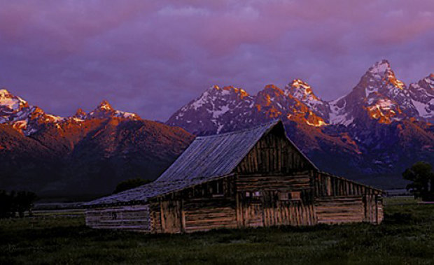 Teton Memories With Moulton Barn