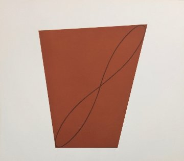 #9 From Attic Series II 1991 Limited Edition Print - Robert Mangold