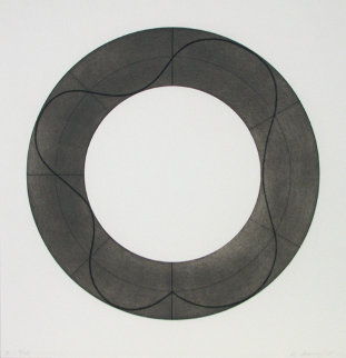 Ring Image B 2008 Limited Edition Print - Robert Mangold