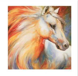 Horse Angel No. 1 Limited Edition Print - Marcia Baldwin