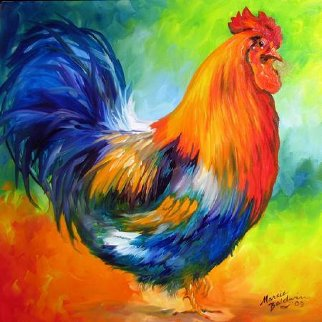 Red Rooster 2009 Limited Edition Print - Marcia Baldwin