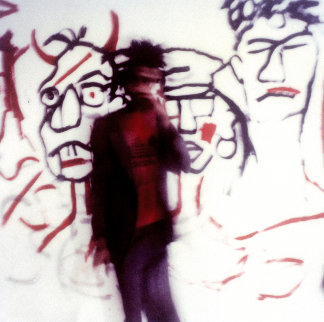 Jean Michel Basquiat Limited Edition Print -  Maripol