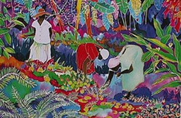 Tropical Harvest 1990 Limited Edition Print - Jennifer Markes