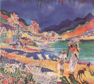 Jade Cove Limited Edition Print - Jennifer Markes