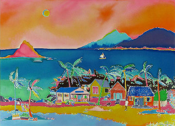 Coconut Bay Limited Edition Print - Jennifer Markes
