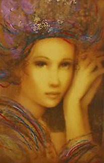 Aphrodite, Phoenia, And Electra Palais, Set of 3   2007 Embellished Limited Edition Print - Csaba Markus