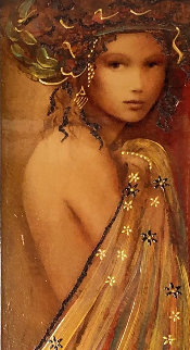 Woman of Spring 2016 Embellished Limited Edition Print - Csaba Markus